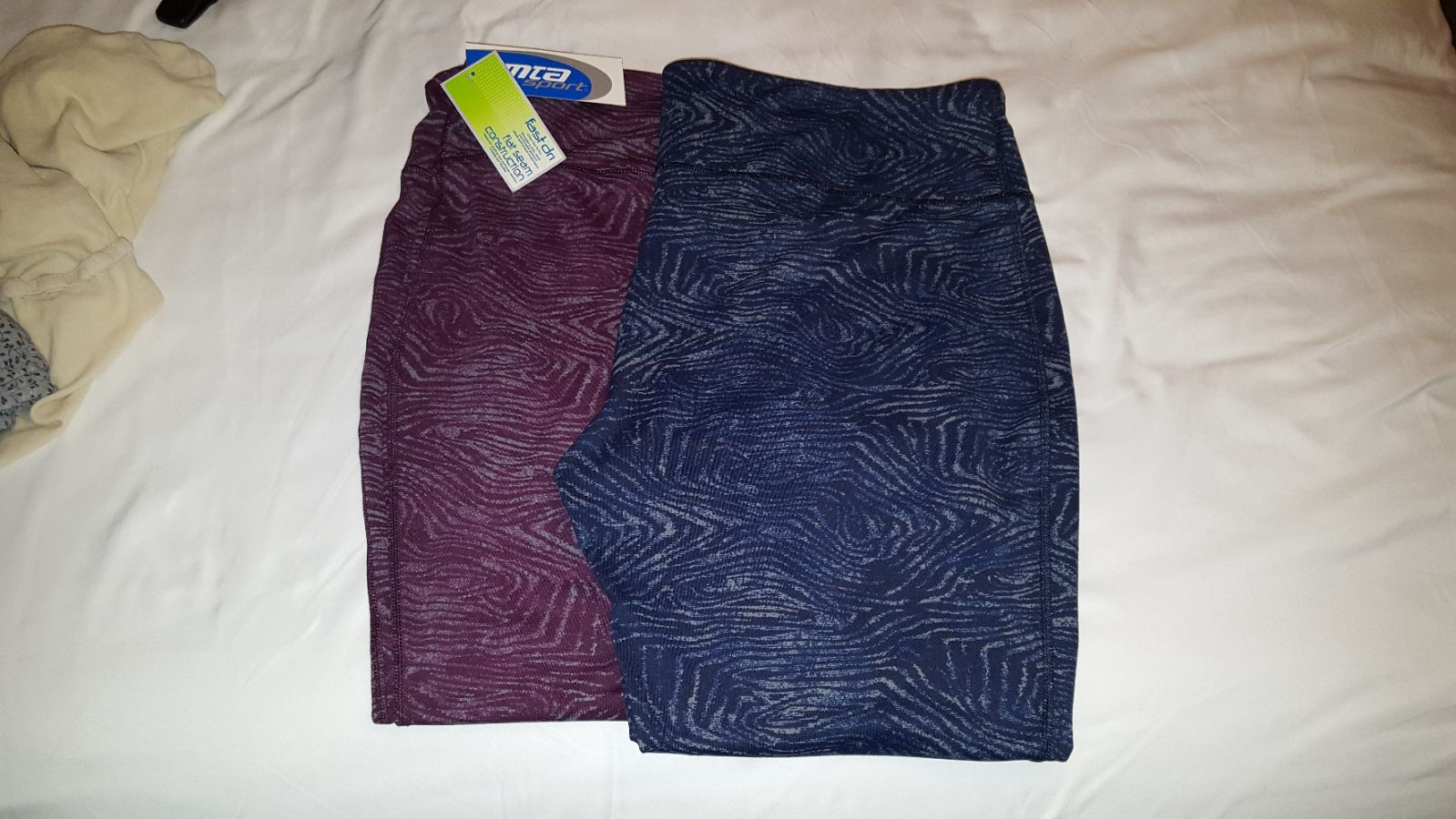 2 pair MTA Sport Performance Leggings 2X