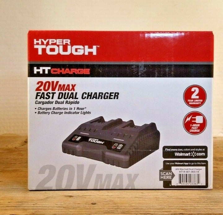 HYPER Tough 20V Max Battery Charger