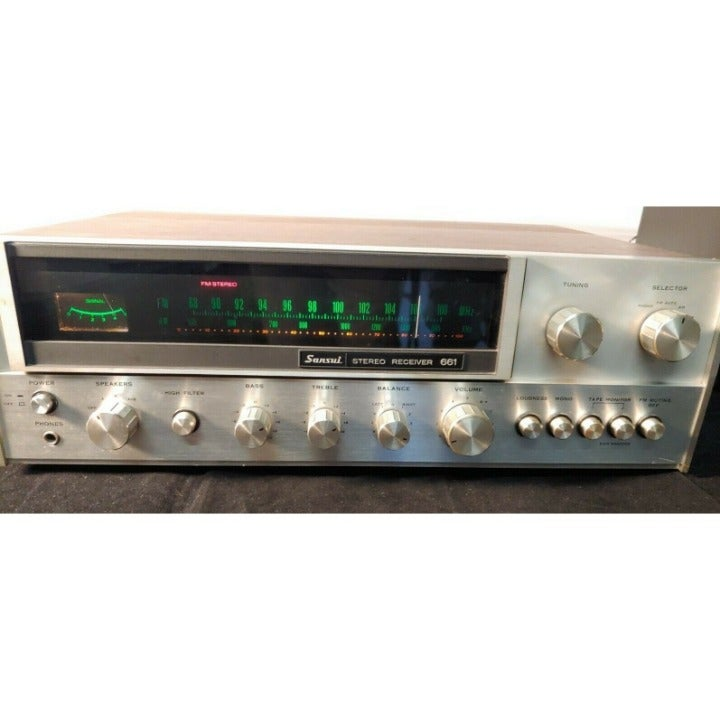 Sansui Stereo Receiver 661  GREAT CONDIT
