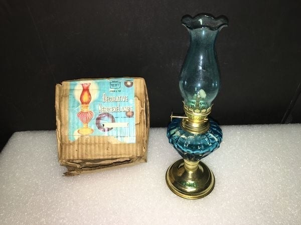 Vintage Decorative Kerosene Lamp