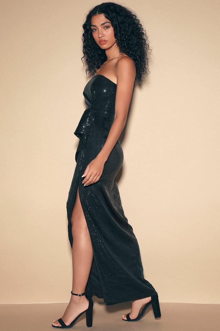 Lulu black dress