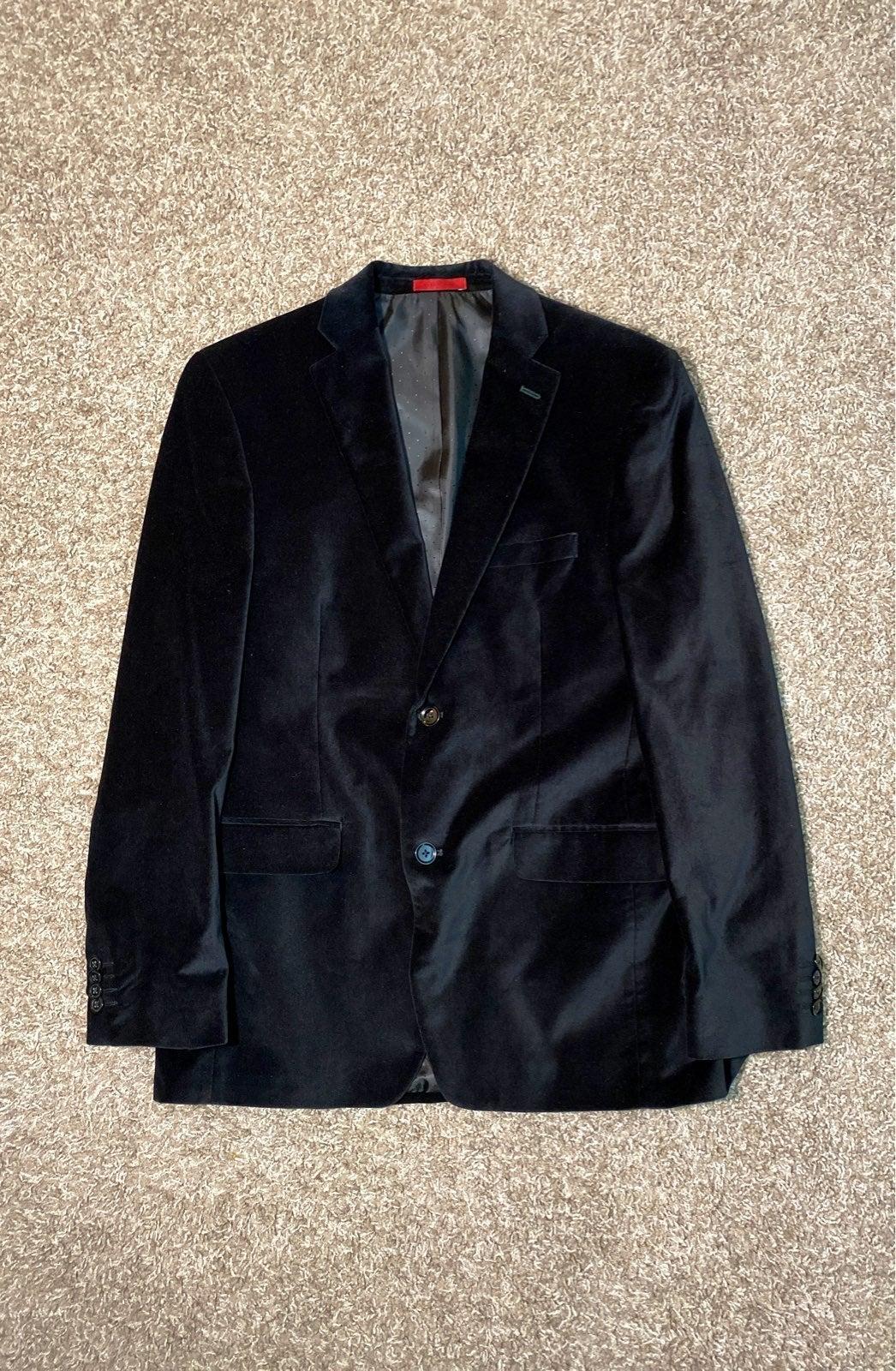 Alfani Slim Fit 38R Velour Men's Blazer