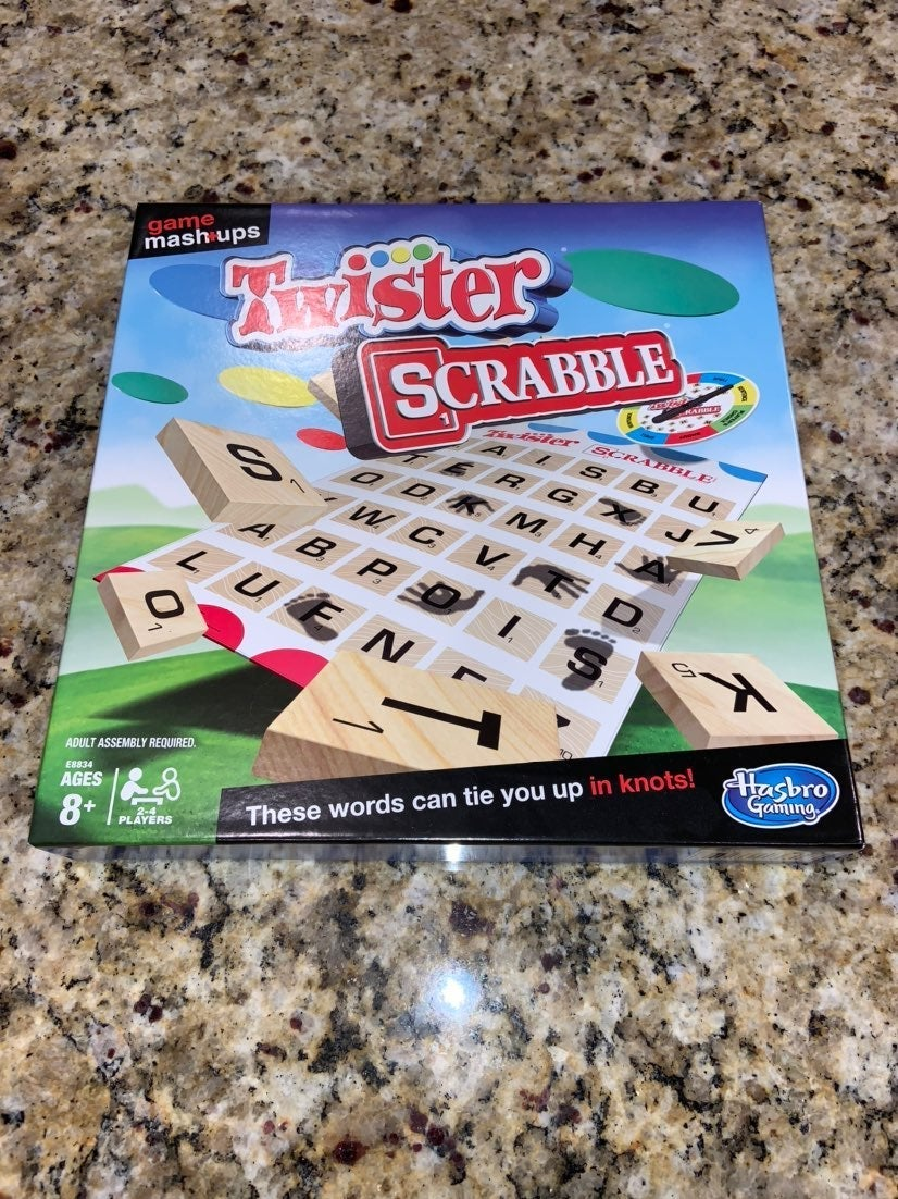 *NEW* Twister Scrabble Mashup Game