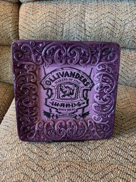 Handmade Ollivander's Magic Wand Plate