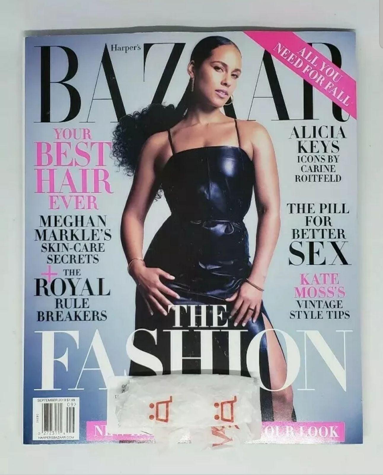 Harper's Bazaar Magazine September 2019