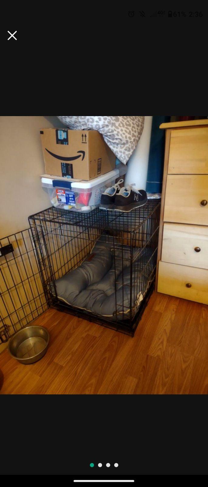Medium Sized Dog Crate
