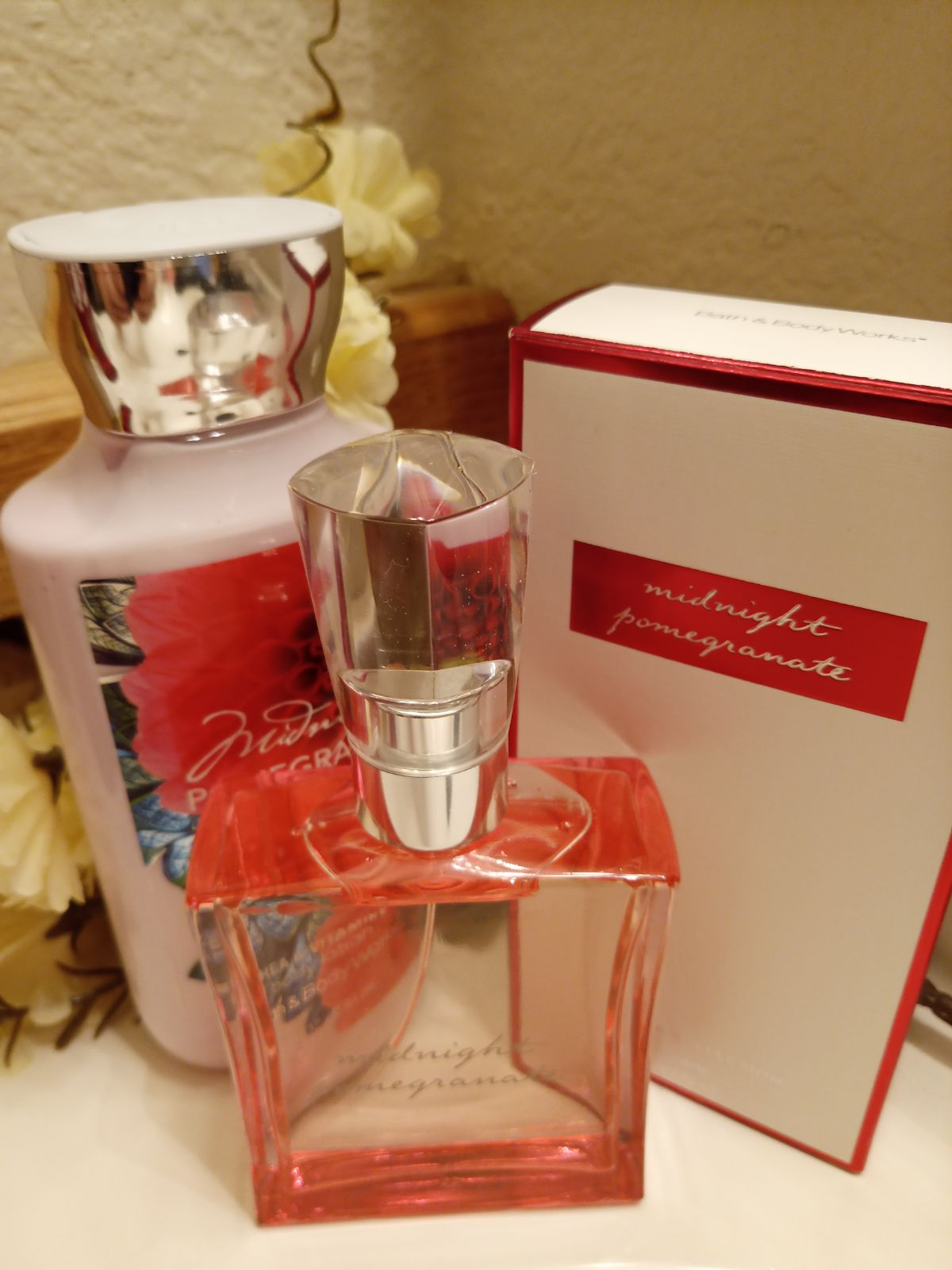 Midnight Pomegranate Bath & Body Works