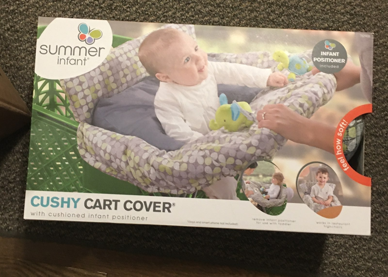 Summer infant cushy cart cover NIB
