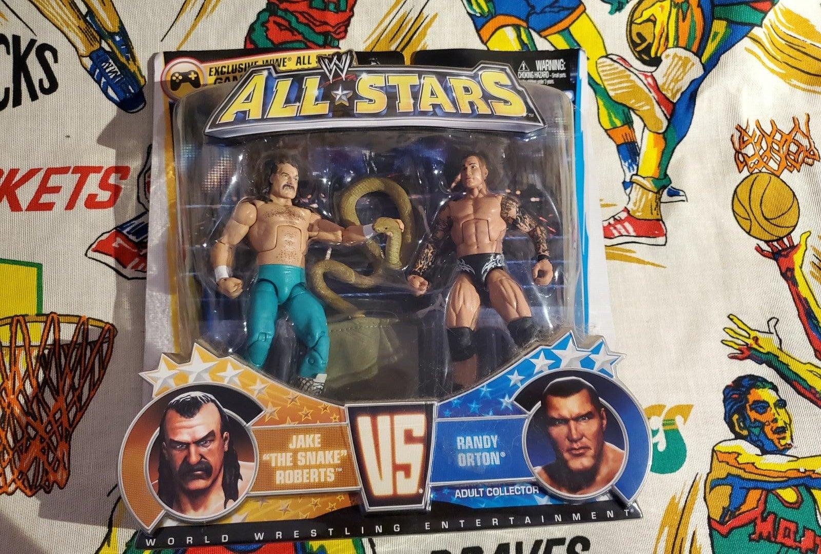Wwe All Stars: Randy Orton vs Jake Rober