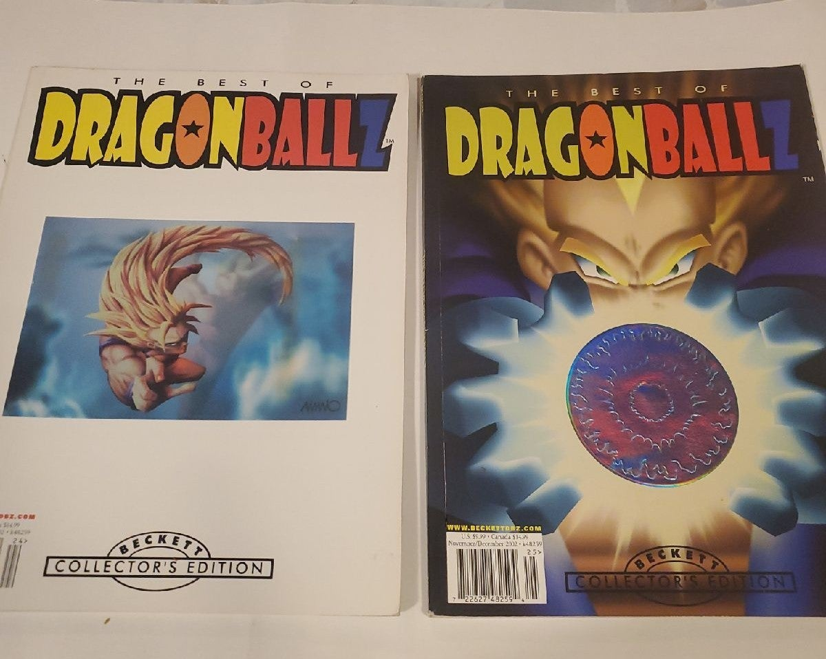 2  Best Of Dragonball Z CE Becketts
