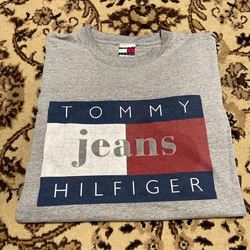 vintage Tommy Hilfiger jeans big flag