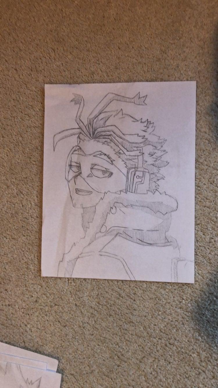 Hawks My Hero Academia Sketch