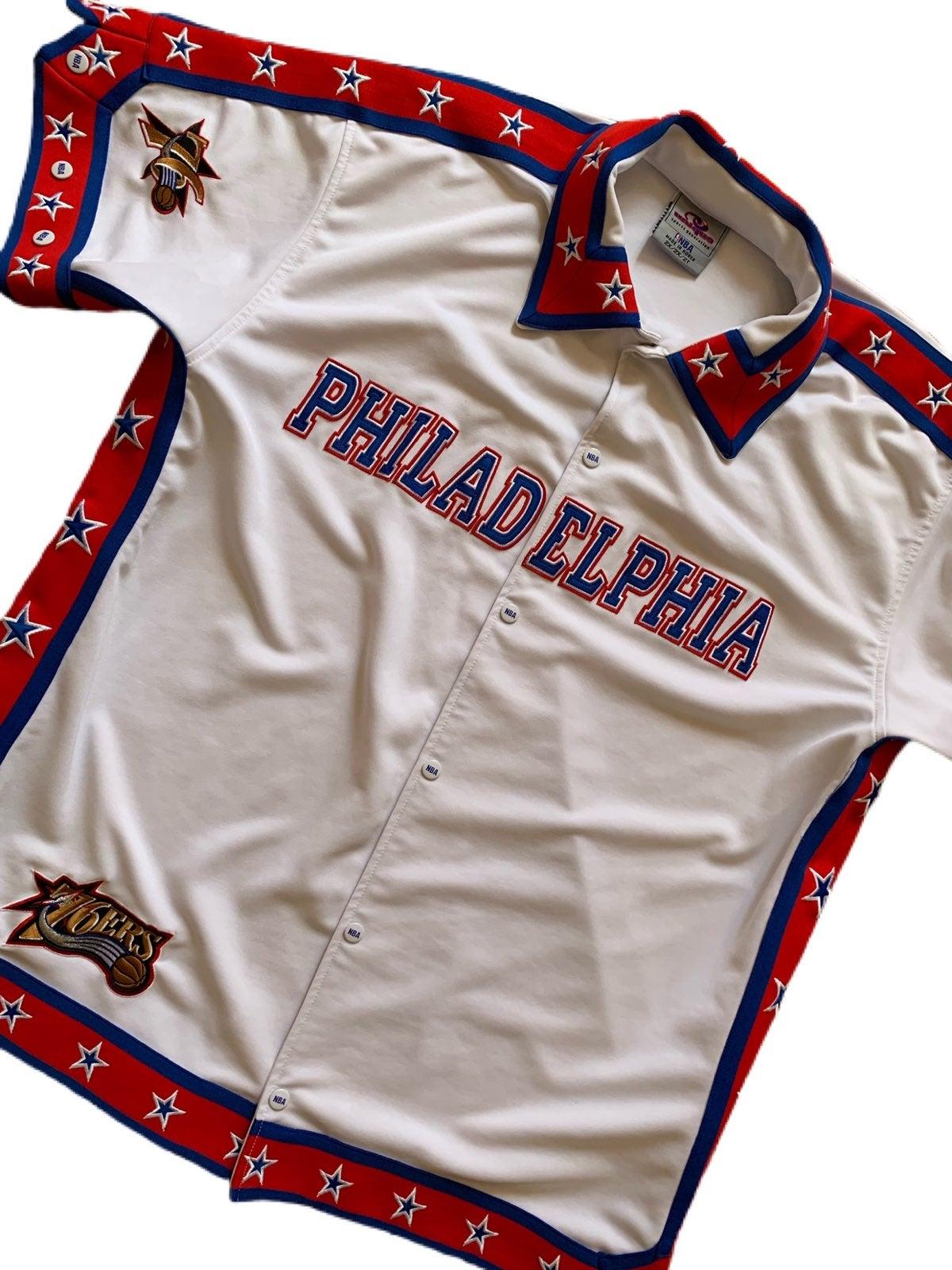 Vintage 90s Philadelphia 76ers Warmup Je