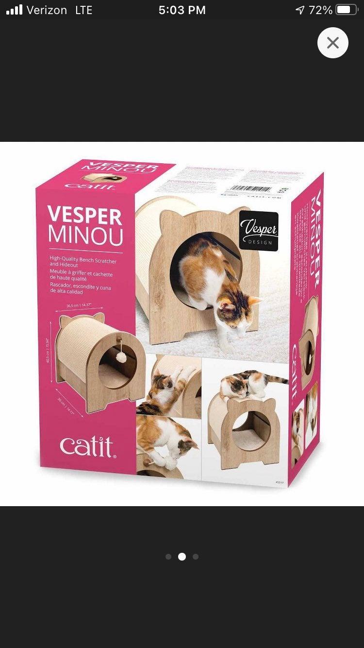 Catit Vesper Minou Bench Cat Scratcher