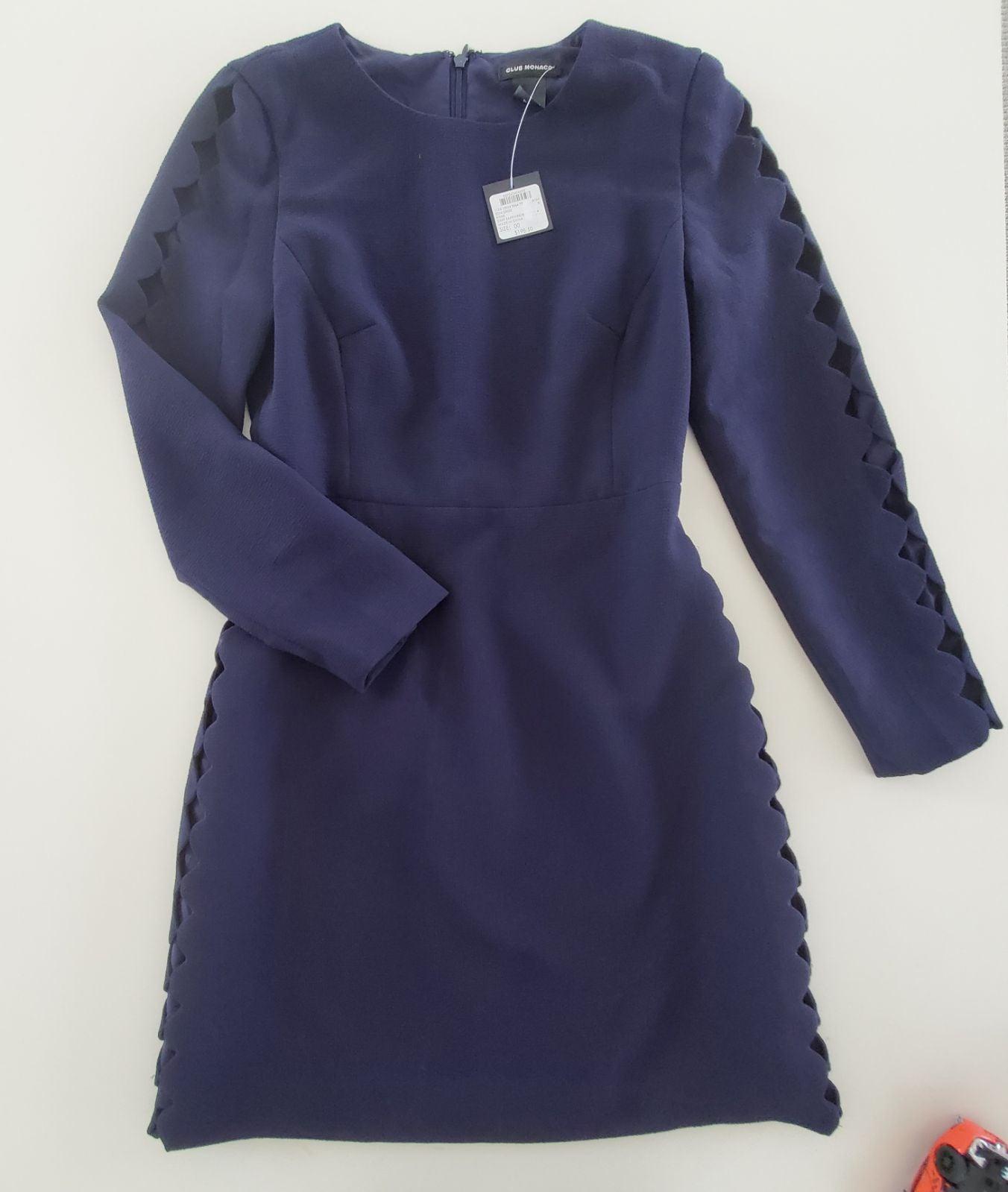 Club Monaco Blue Dress