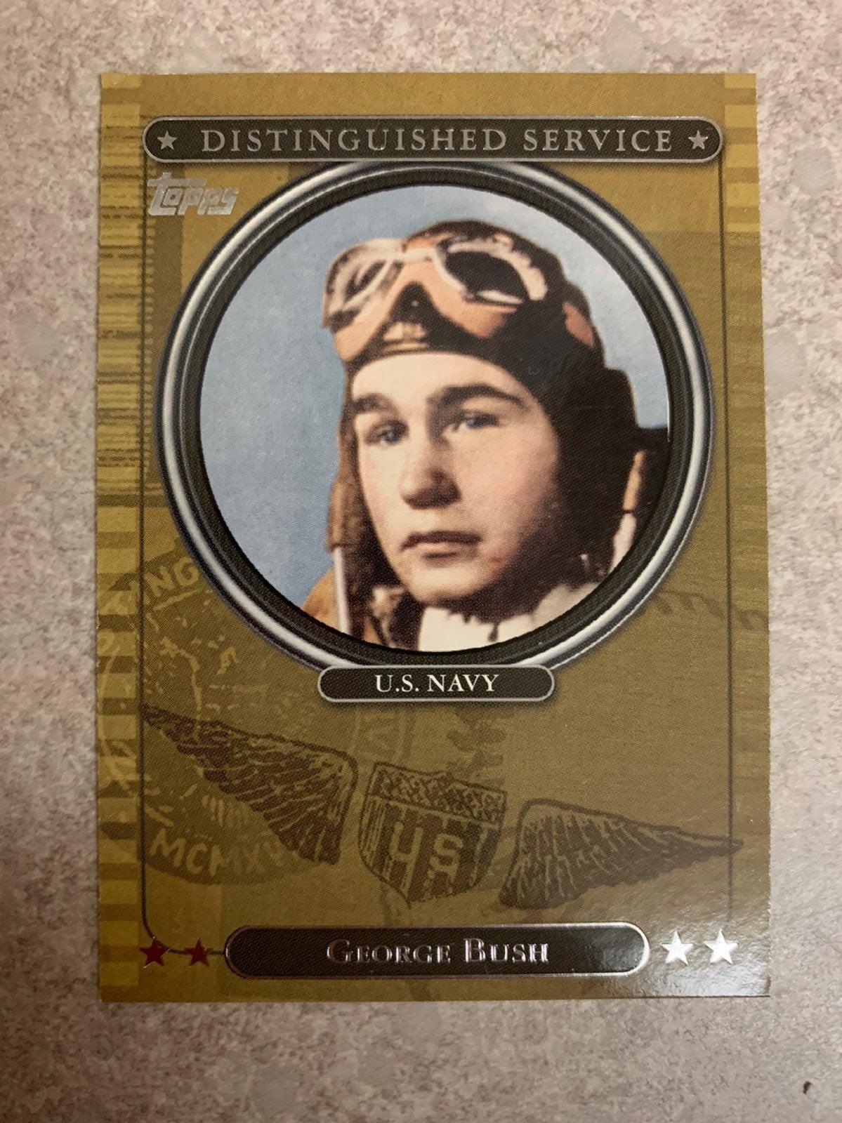 2007 Topps George Bush Card