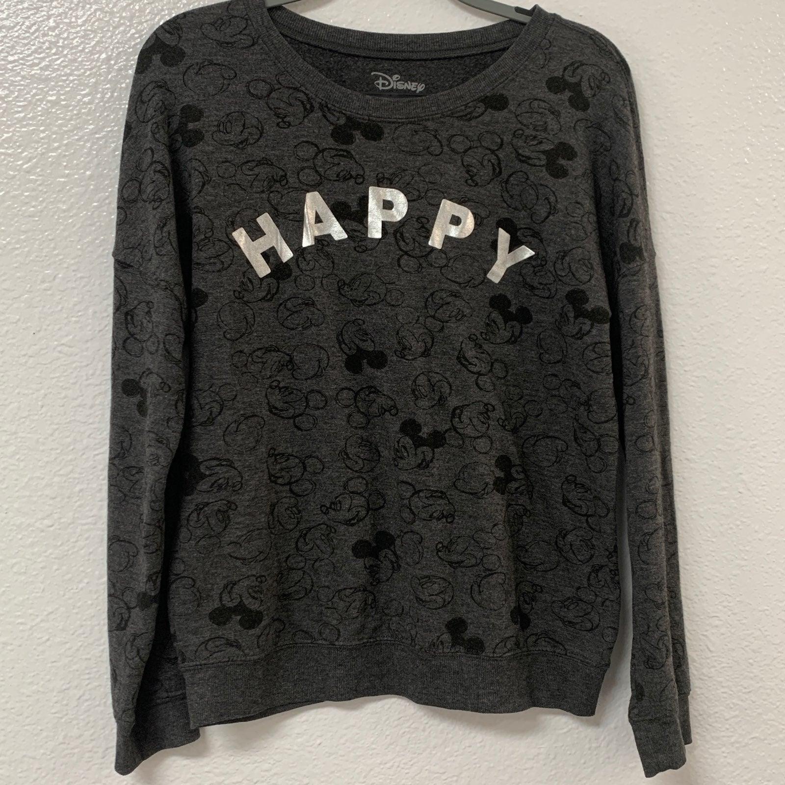 Women's Disney HAPPY Sweatshirt Size L