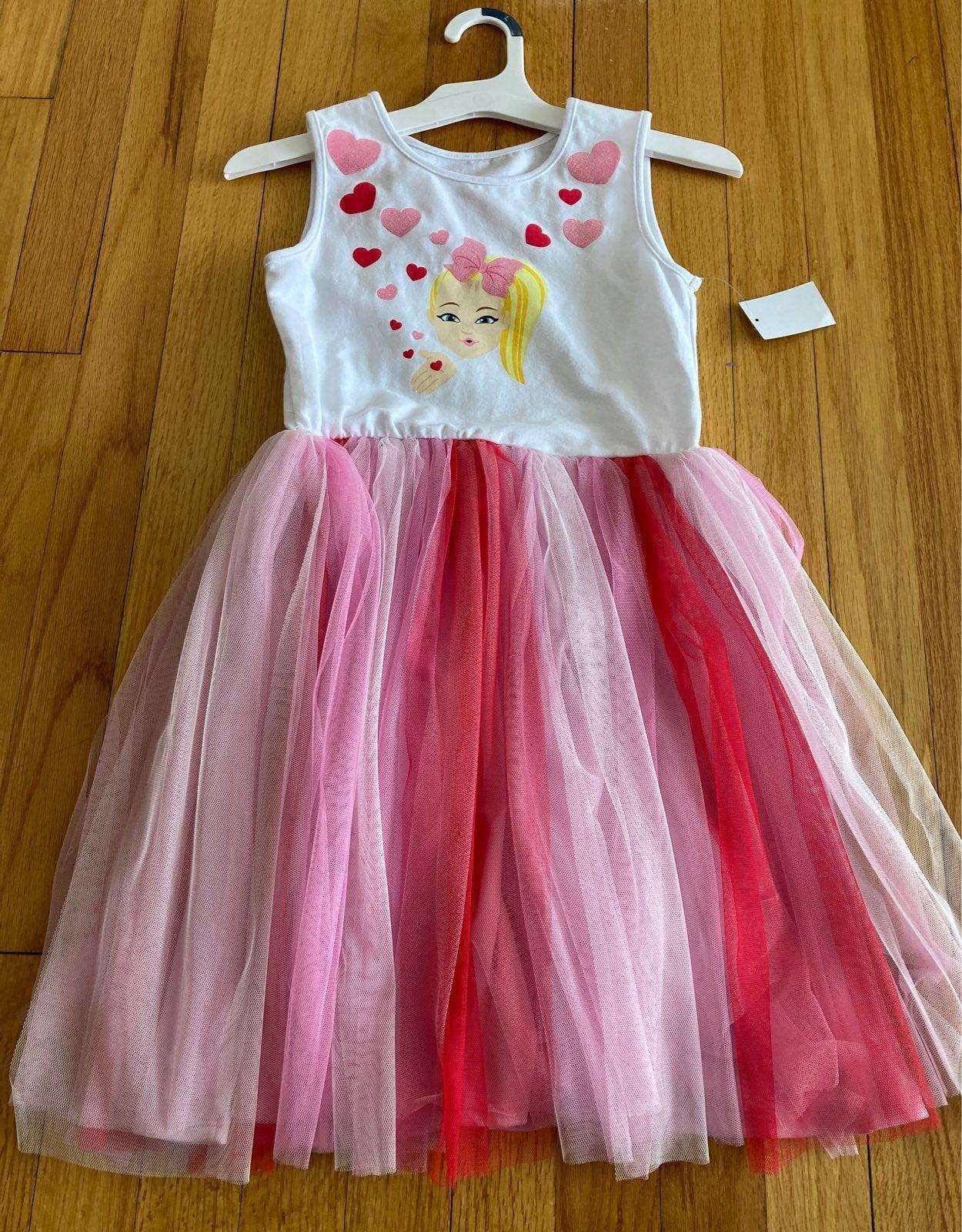 Size L Girls Jojo siwa Tutu dress