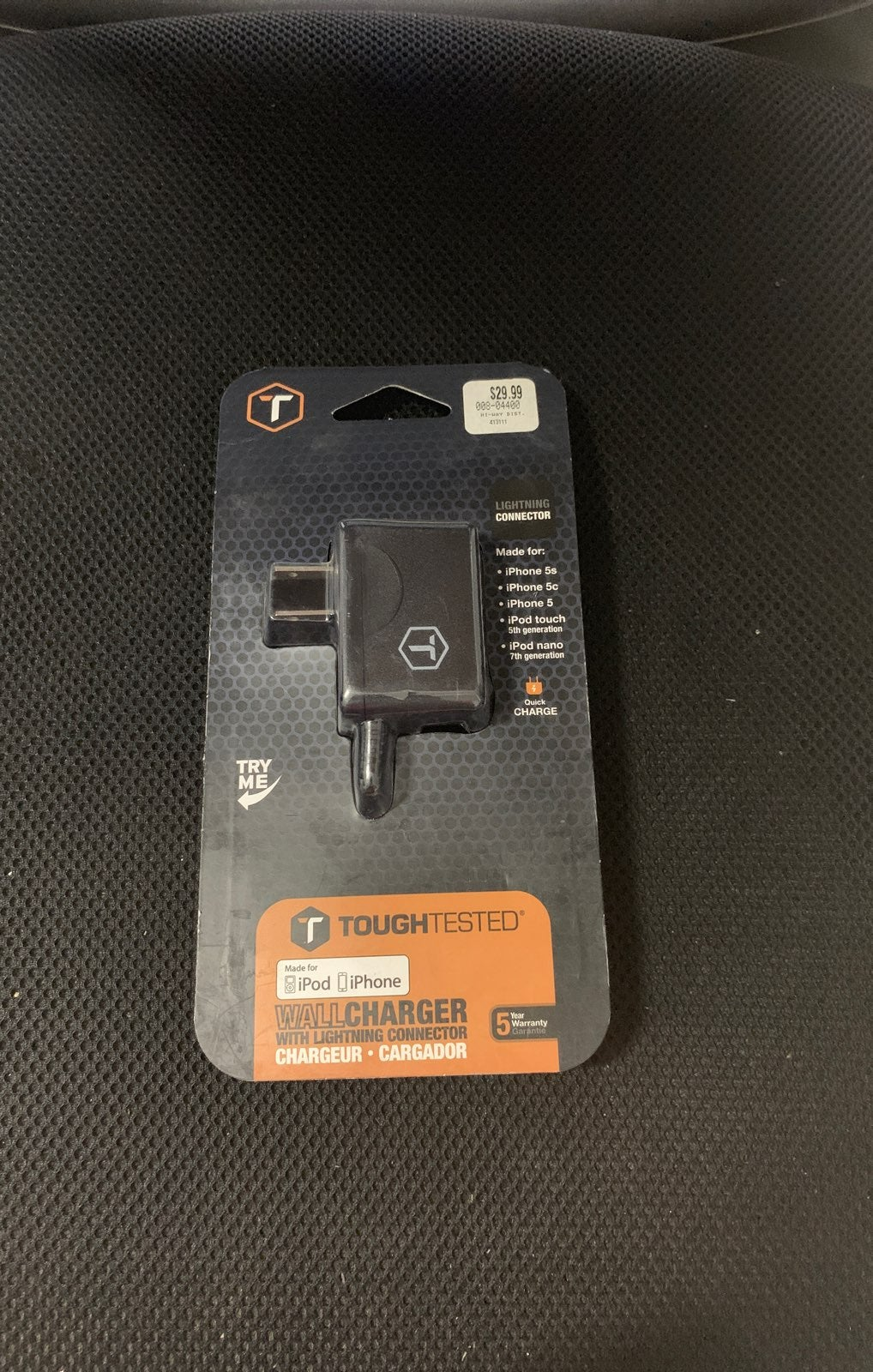 Toughtested LIGHTNING iPhone Xs Charger