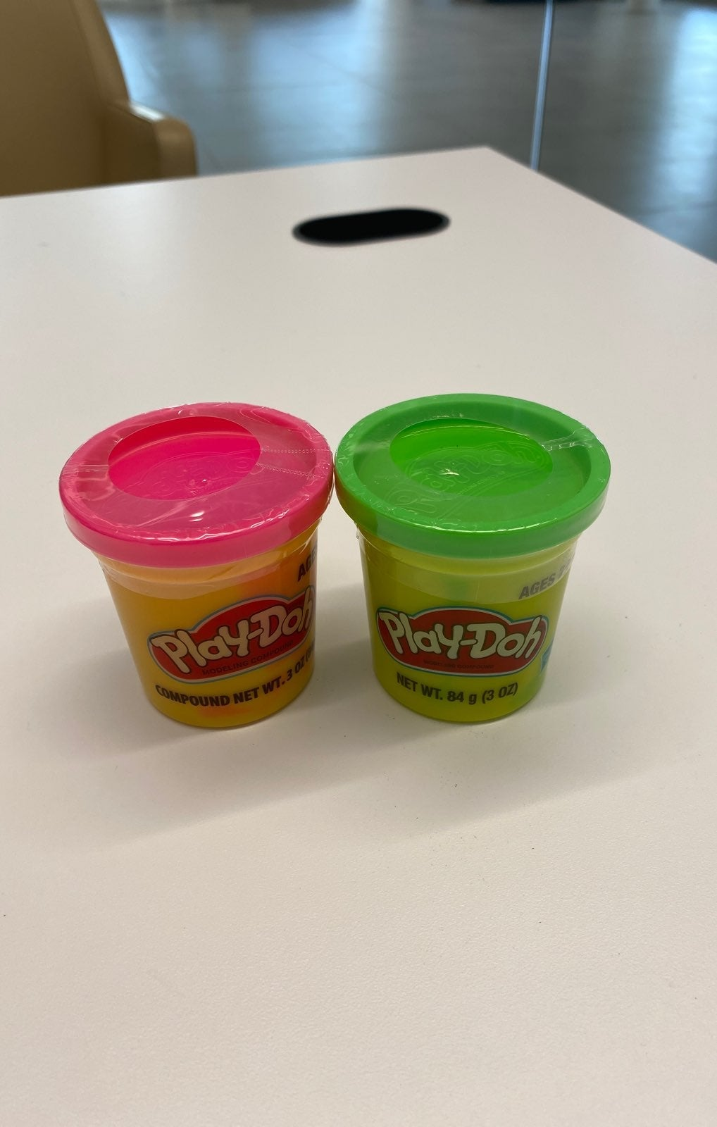 Pink and Green Playdoh bundle