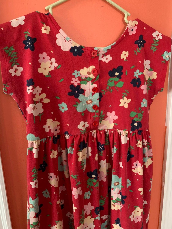 Hanna Andersson 150cm floral dress