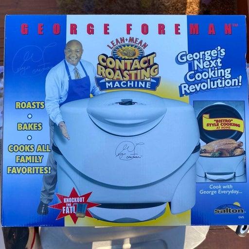 George Foreman Contact Roasting Machine