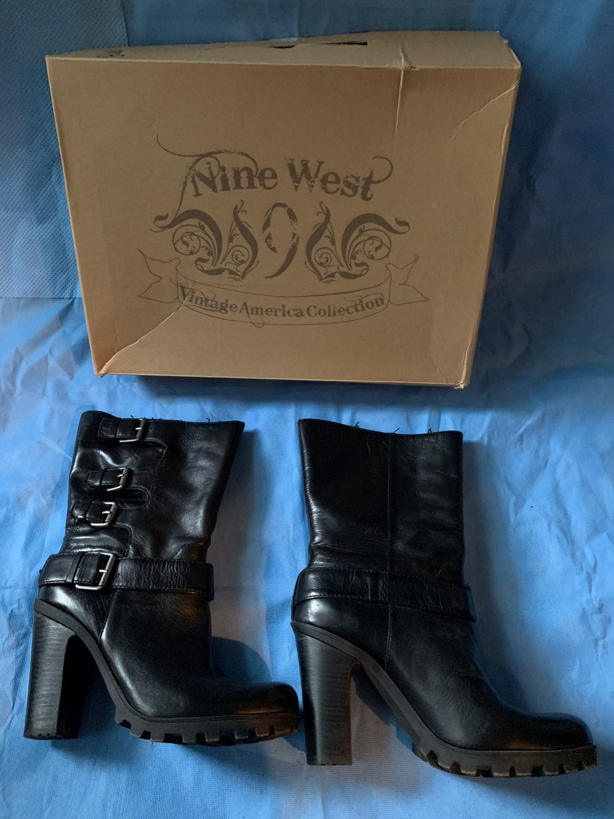 Nine West Javana Black Boots