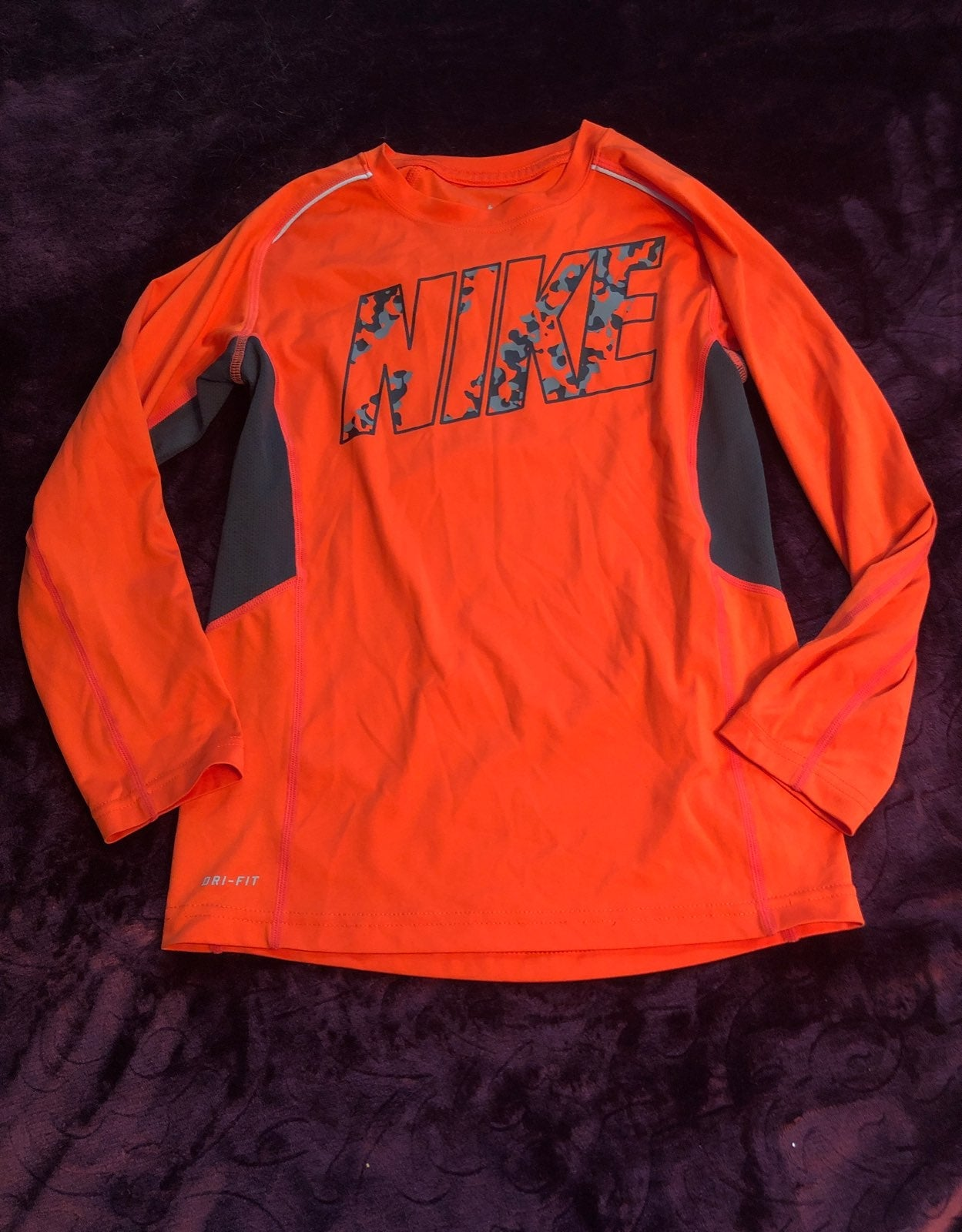 Boys Nike Dri-Fit long sleeved shirt