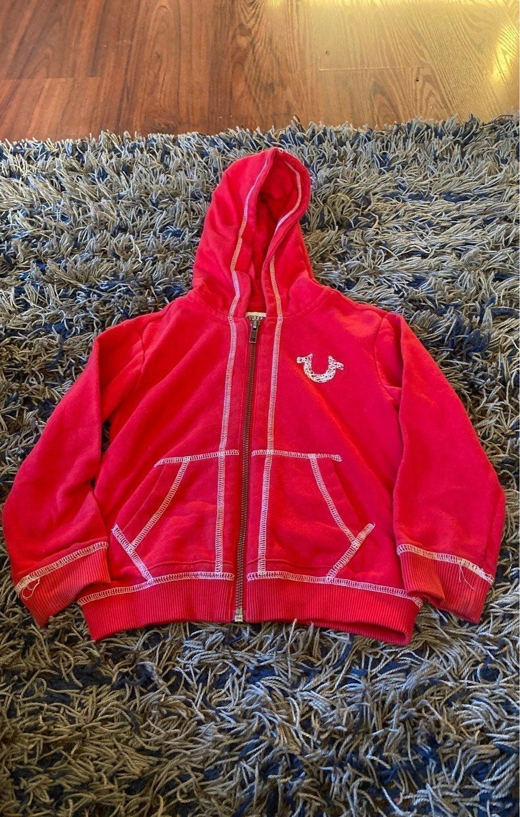 True Religion boys hoodie 3t