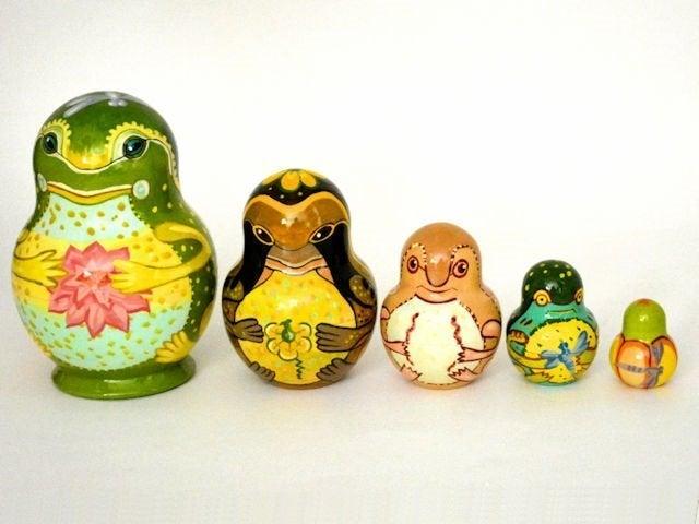 Unique Nesting Dolls Matryoshka 5pcs