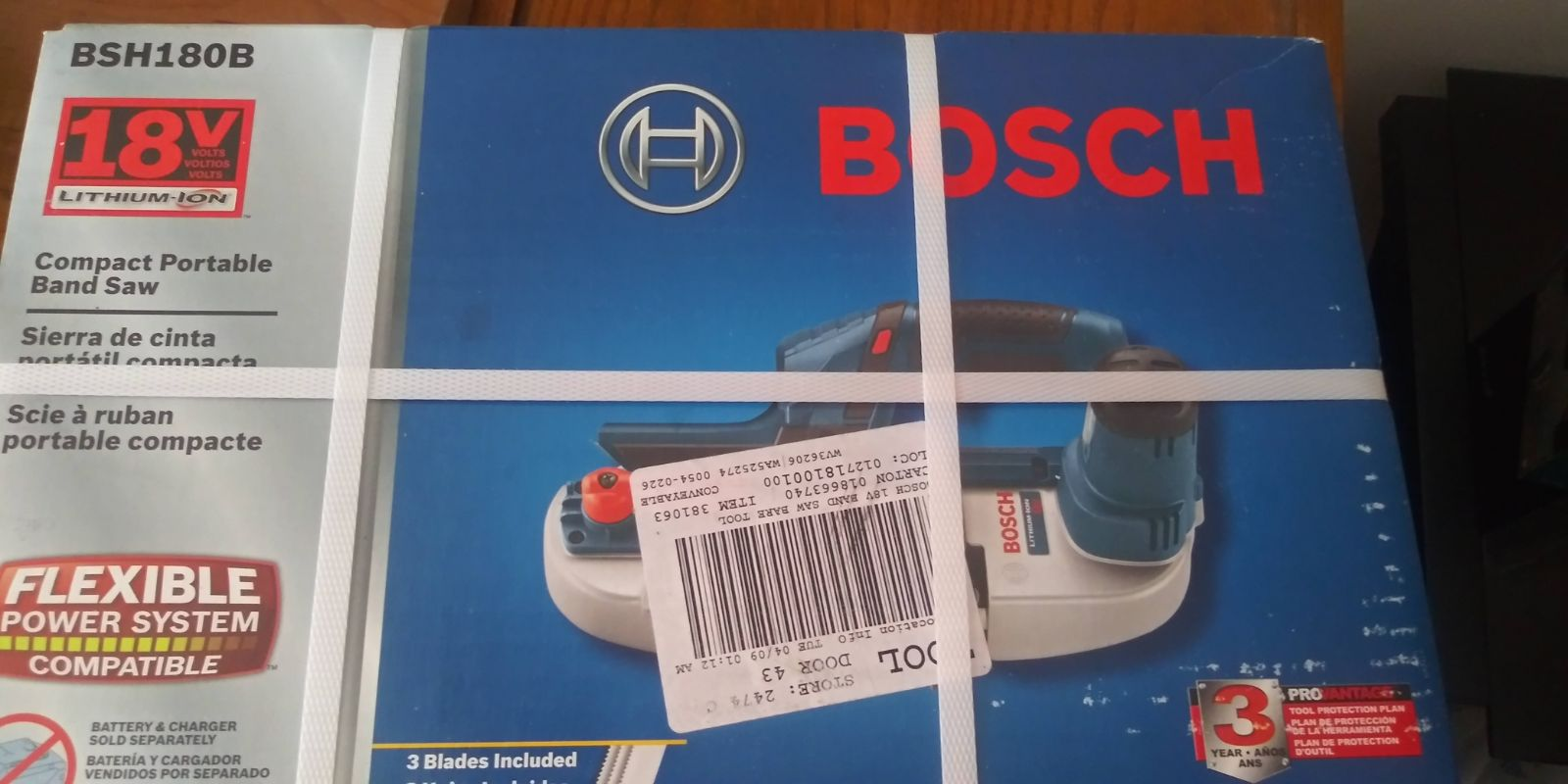 *New in Box* Bosch 18 V Band Saw
