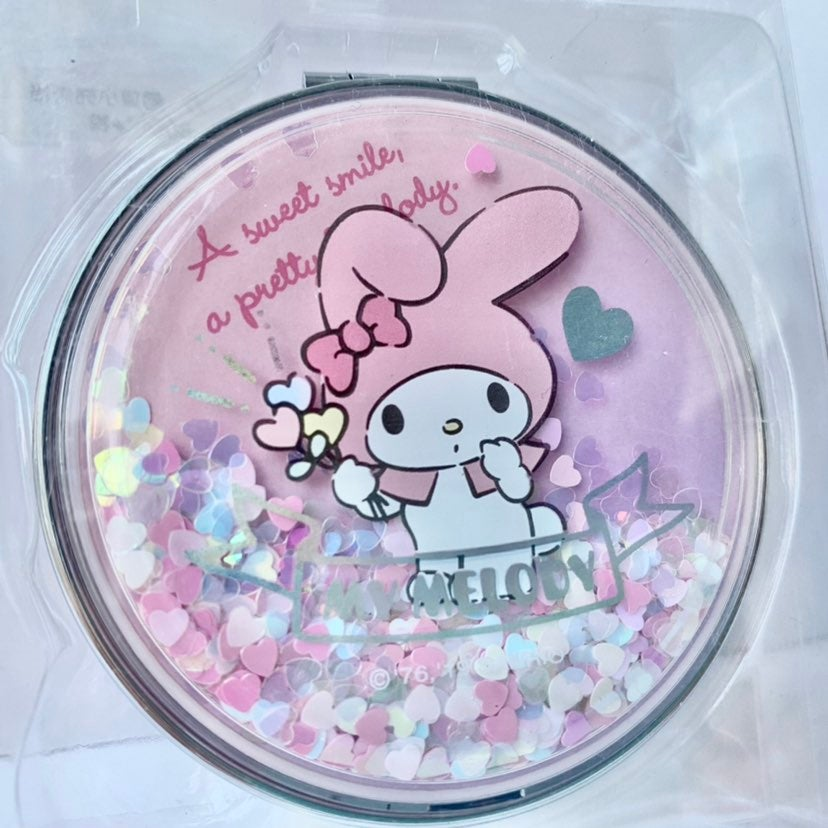 My Melody Compact Hand Held Mirror