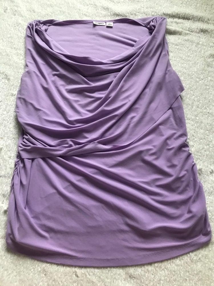 Purple CATO Blouse