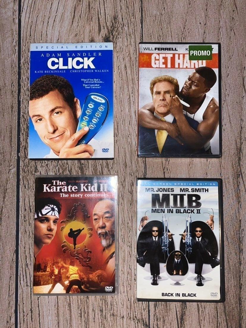 DVD Bundle 4pcs