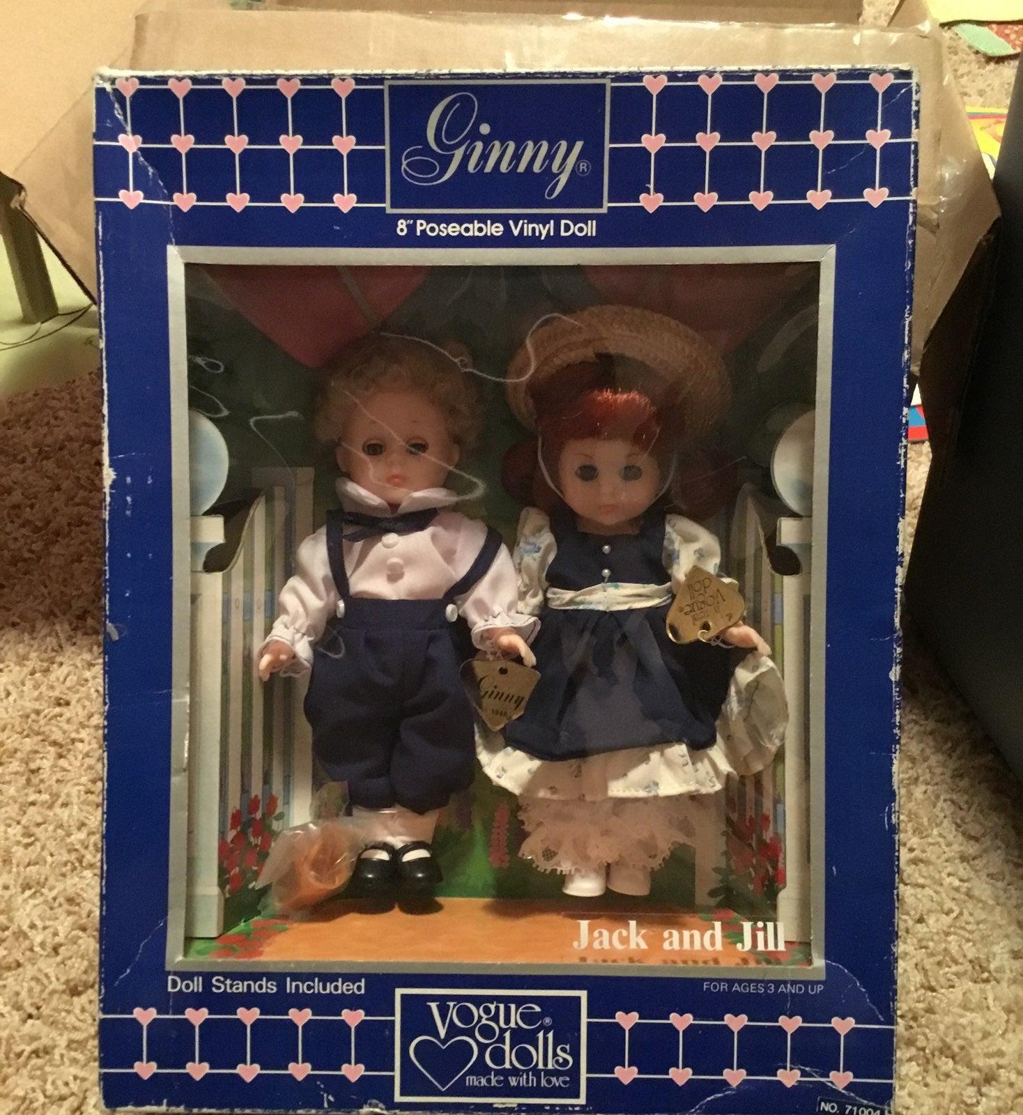 ginny dolls Jack and Jill