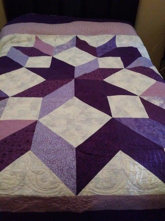 Carpenter Star Bed Quilt