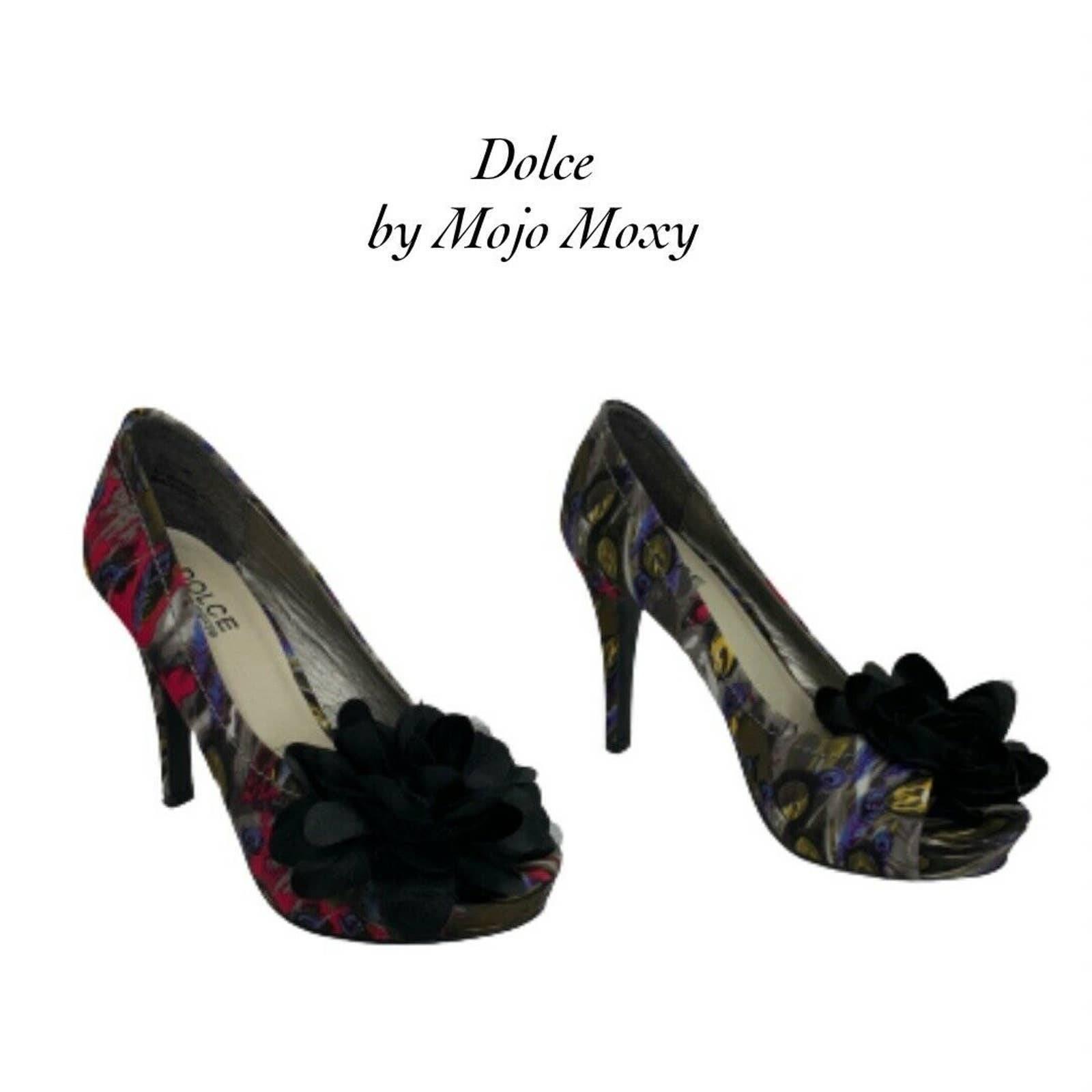 Dolce by Mojo Moxy Fan Feather Heels