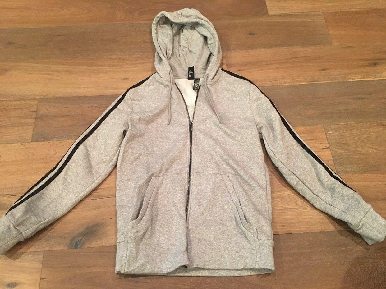 Adidas Grey Zip up