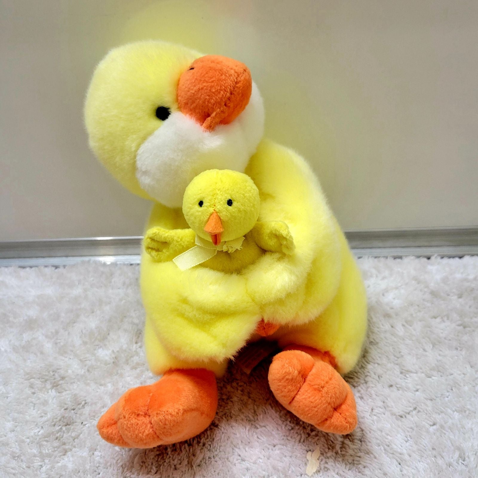 Vintage Russ mom and me chick plush