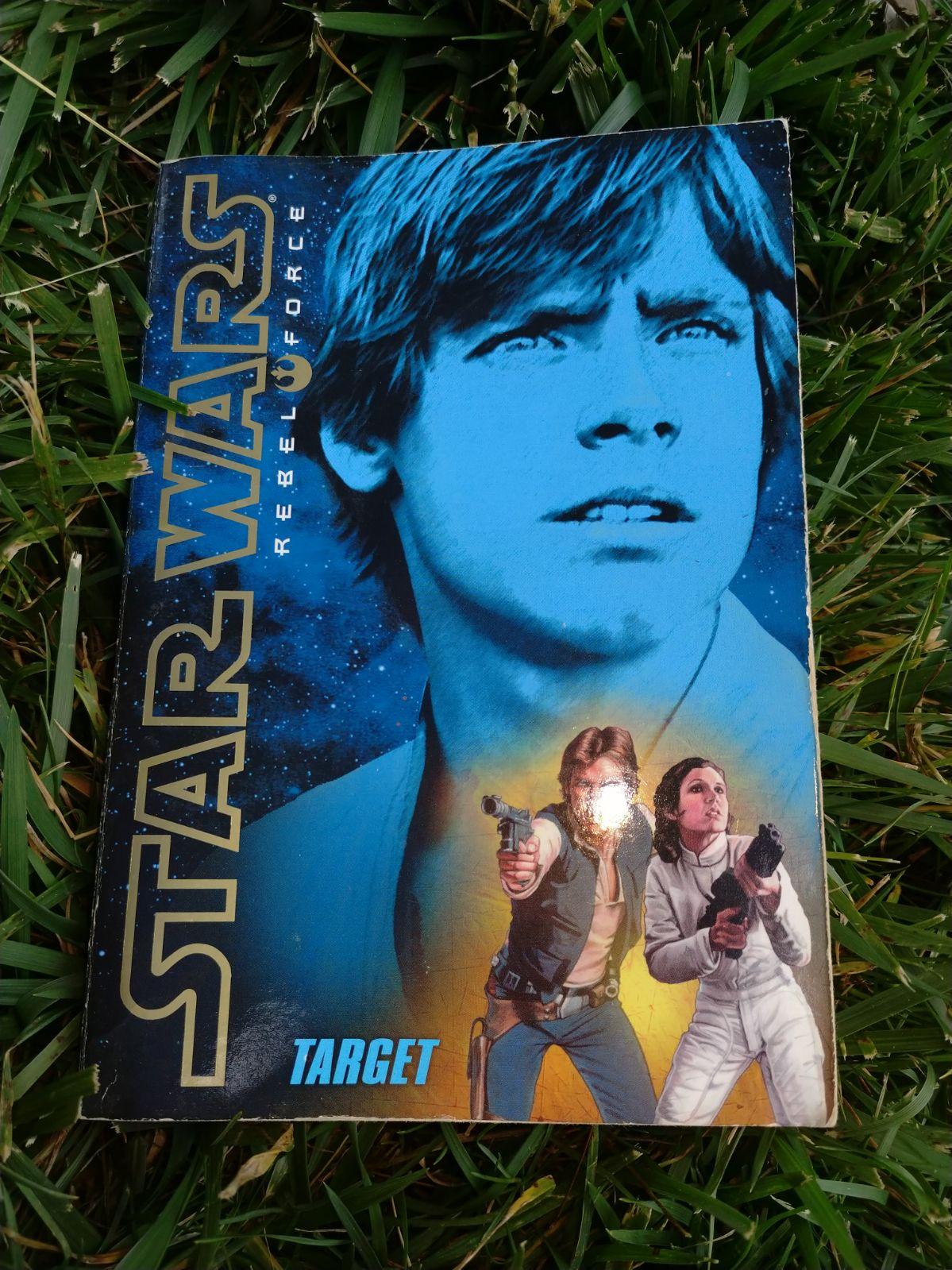 Star Wars Rebel Force book (Target)