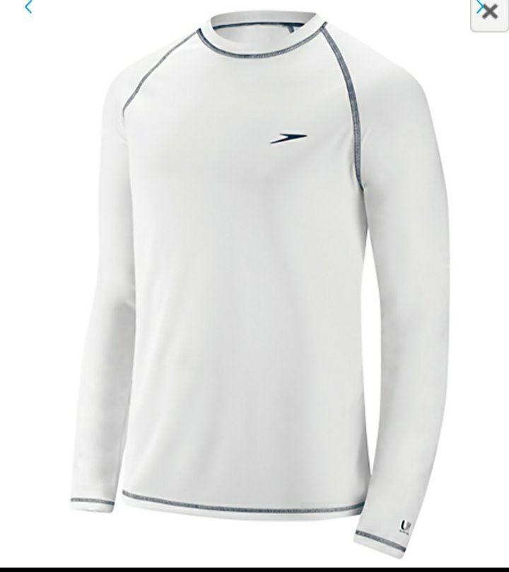 Mens Long Sleeve Speedo shirt L
