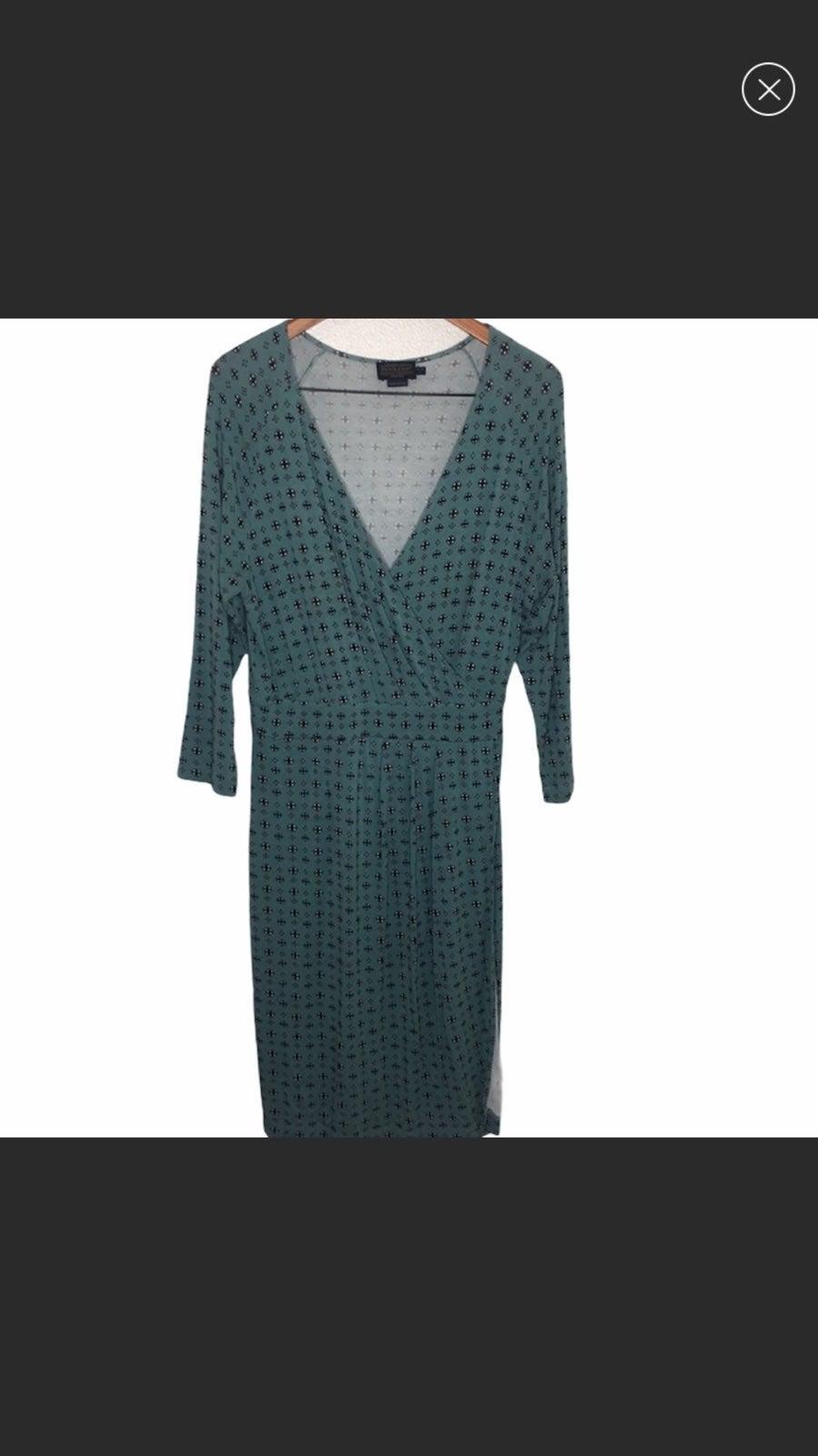 Pendleton Azure Mimi Faux Wrap Dress