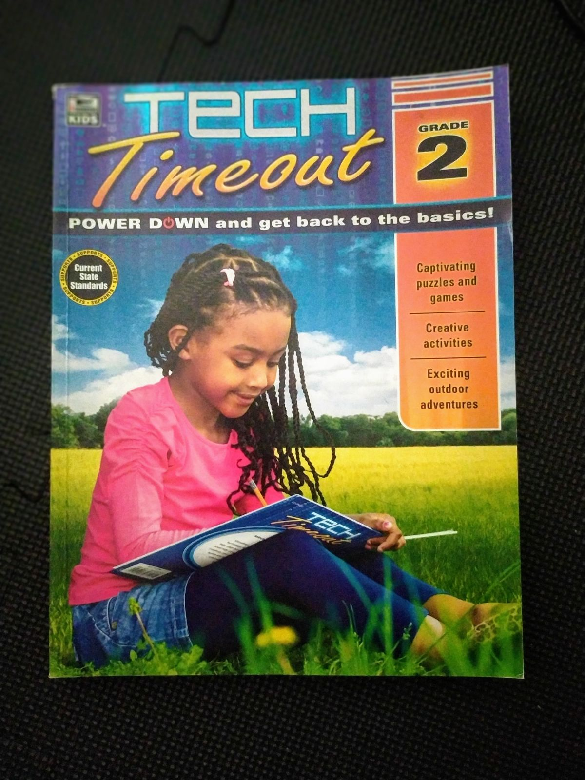 Tech Timeout Puzzle and Activity Book
