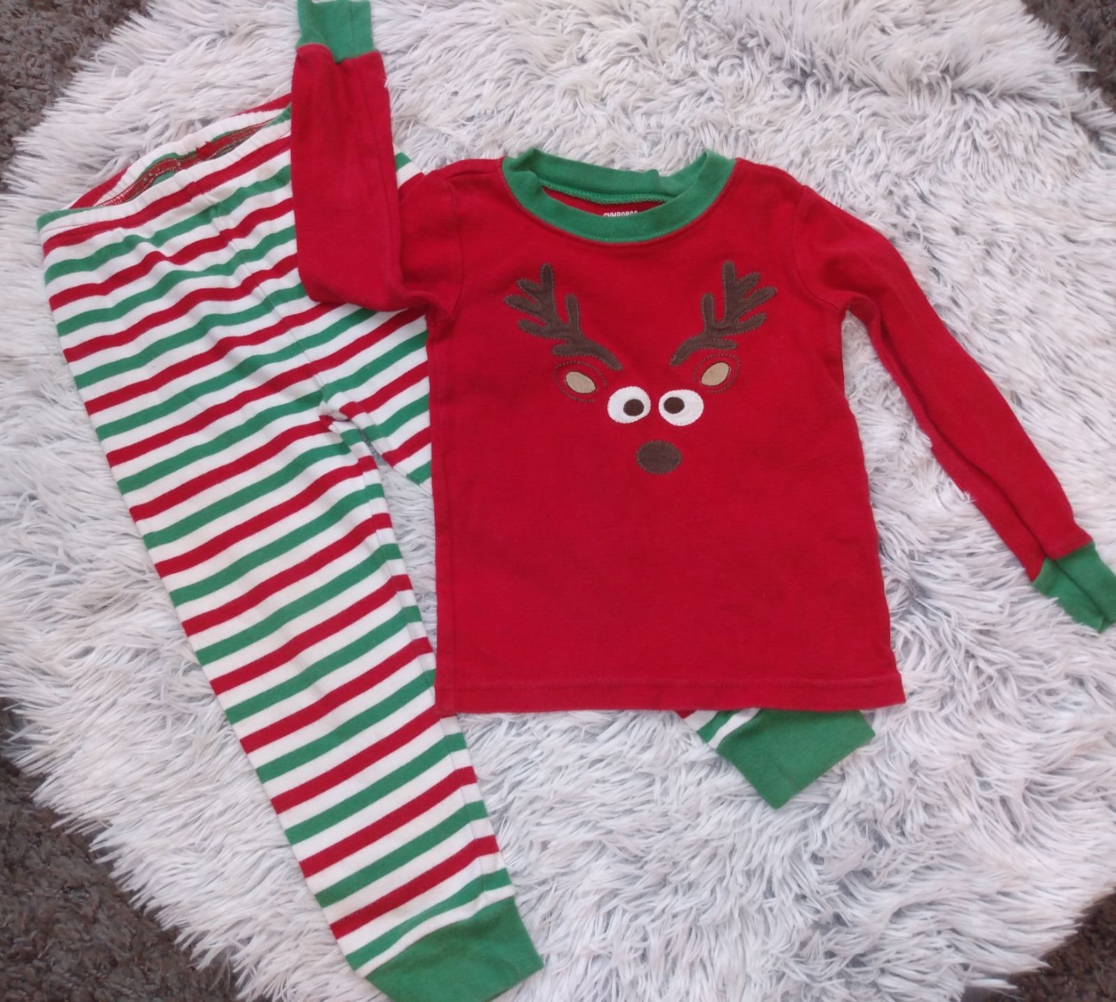 Gymboree Holiday Pajamas Sz 3 3T