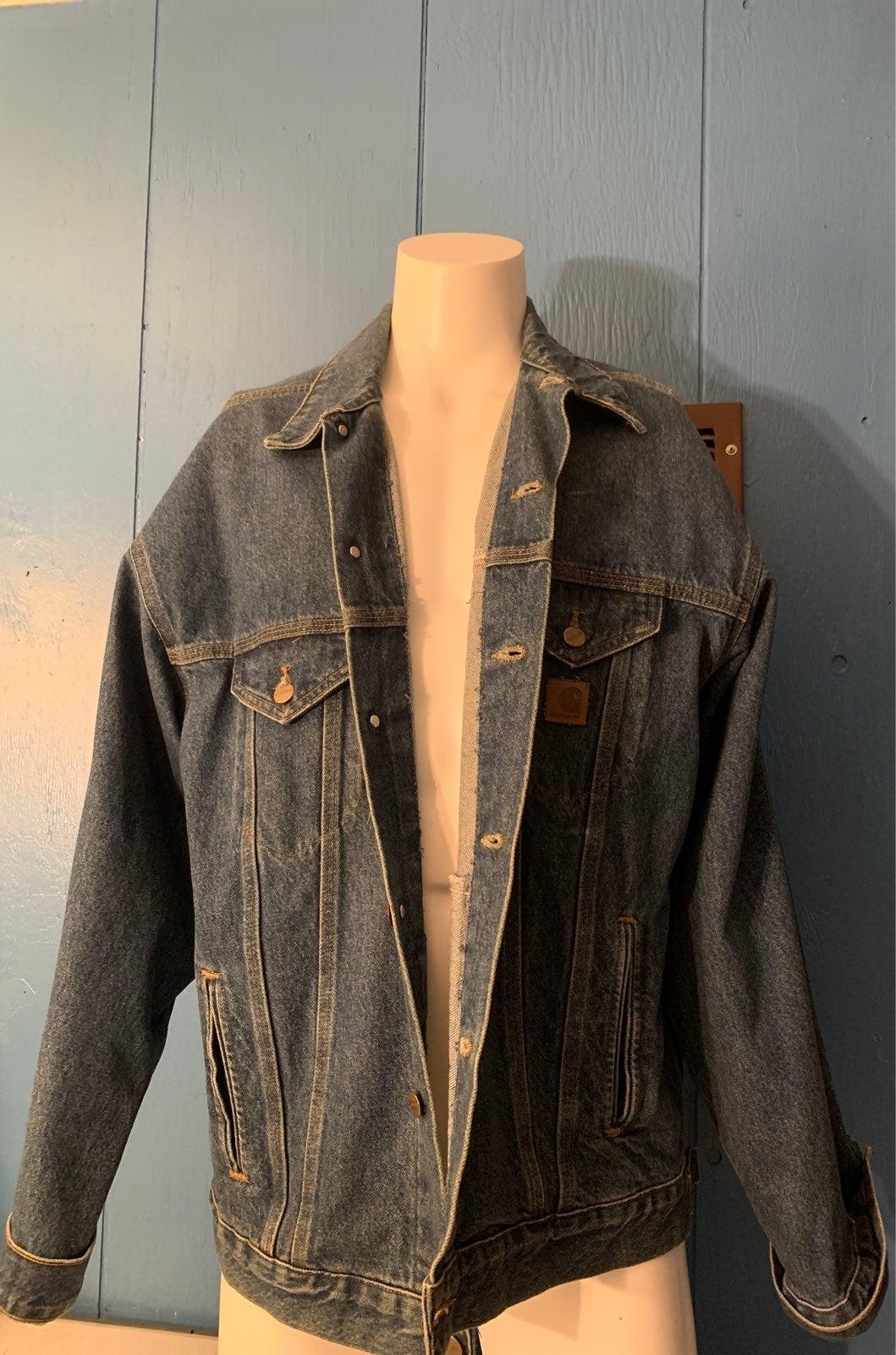 Carhartt jacket jean