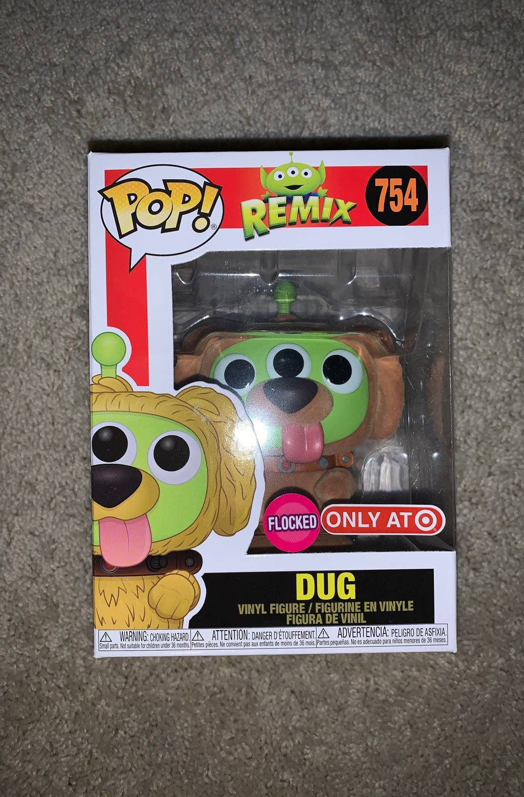 Funko Pop Alien Remix Dug