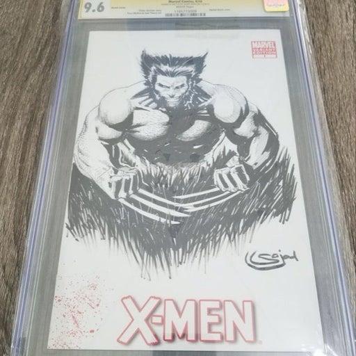 X-Men #1 Original Art Sketch CGC 9.6 SS
