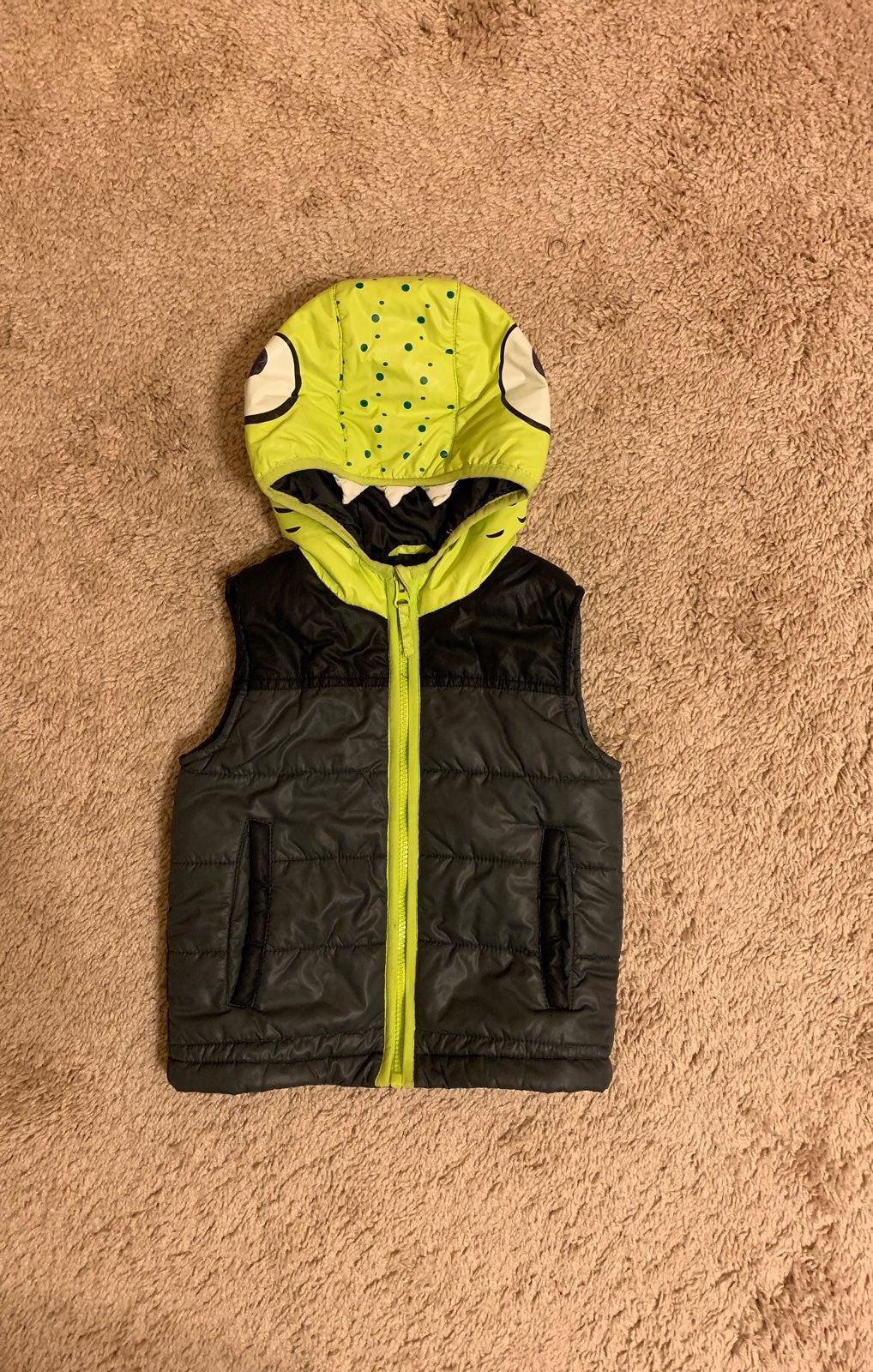 Toddler Boy Puffer Vest