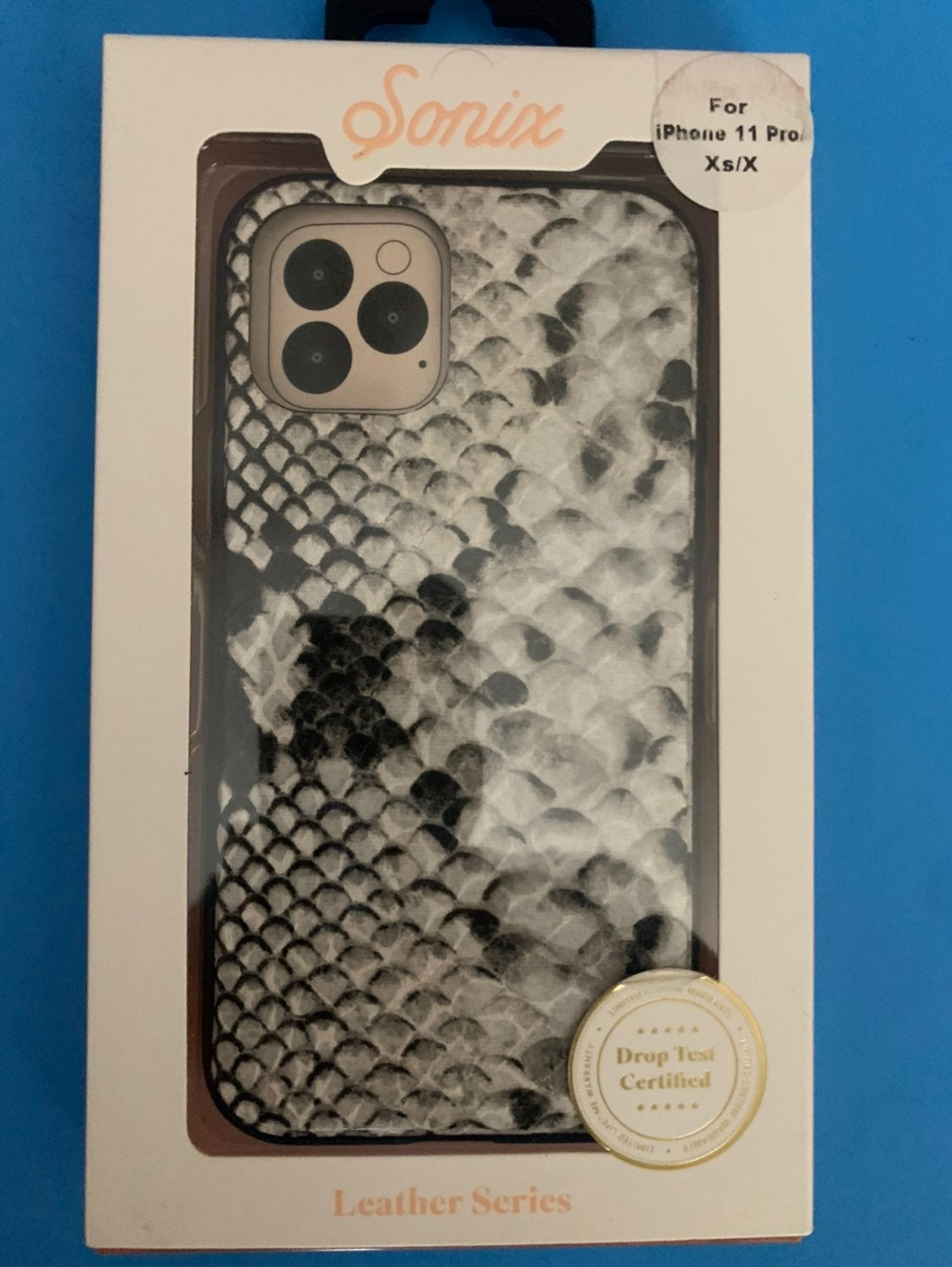 Sonix IPHONE 11 PRO/XS/X Leather case