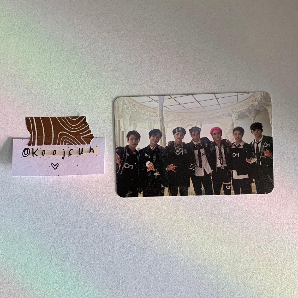 superm: super one group photocard